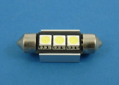 10X42 CAN BUS 3SMD 5050 WHITE