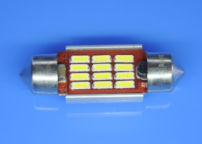 10X36 CAN BUS 12SMD 4014 WHITE