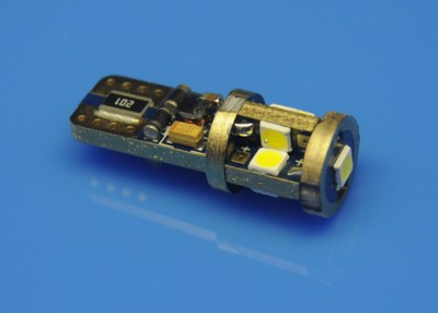 T10 CAN BUS 9SMD3030 12V W16