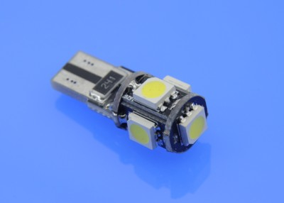 T10 CAN BUS 5SMD5050 white